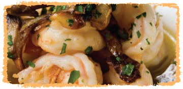 Madras Garlic Chilli Prawns